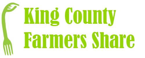 King County Farmers Share logo