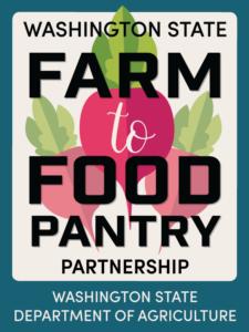 Farm to Food Pantry placard